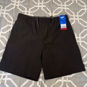 Speedo tech volley shorts with UPF protection